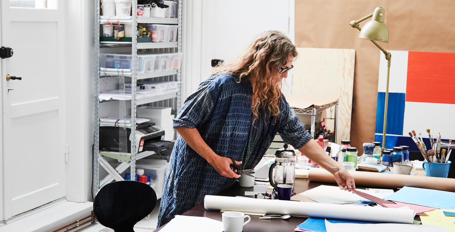 Malene Bach visual artist studio